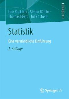 Statistik - Kuckartz, Udo; Rädiker, Stefan; Ebert, Thomas; Schehl, Julia