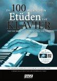 Die 100 wichtigsten Etüden für Klavier, m. 2 Audio-CDs