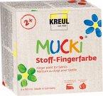 MUCKI Fingerfarbe Textil 4er Set