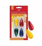 Faber-Castell Malkreide Birne, 4er Set