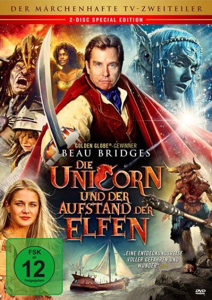 die unicorn und der aufstand der elfen 2 discs auf dvd