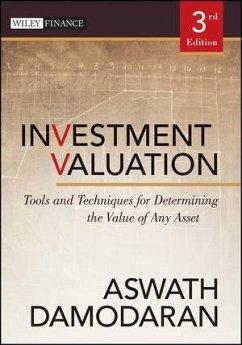 Investment Valuation (eBook, ePUB) - Damodaran, Aswath
