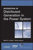 Integration of Distributed Generation in the Power System (eBook, ePUB)