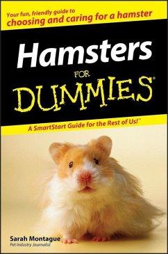 Hamsters For Dummies (eBook, ePUB) - Montague, Sarah