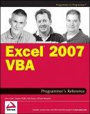 Excel 2007 VBA Programmer's Reference (eBook, ePUB)