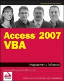 Access 2007 VBA Programmer's Reference (eBook, ePUB)