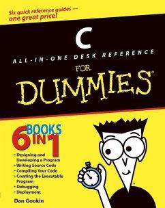 C All-in-One Desk Reference For Dummies (eBook, ePUB) - Gookin, Dan