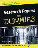 Research Papers For Dummies (eBook, ePUB)