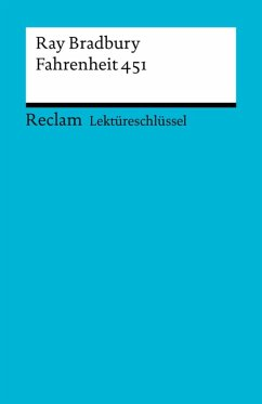 Lektüreschlüssel. Ray Bradbury: Fahrenheit 451 (eBook, PDF) - Arnold, Heinz