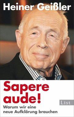 Sapere aude! (eBook, ePUB)