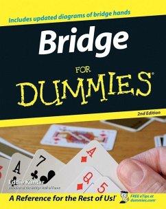 Bridge For Dummies (eBook, ePUB) - Kantar, Eddie