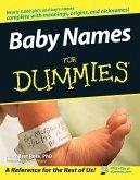 Baby Names For Dummies (eBook, ePUB)