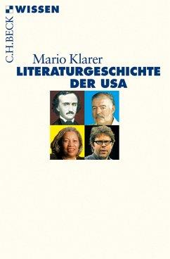 Literaturgeschichte der USA (eBook, ePUB) - Klarer, Mario