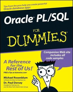 Oracle PL / SQL For Dummies (eBook, ePUB) - Dorsey, Paul; Rosenblum, Michael