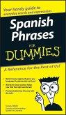 Spanish Phrases For Dummies (eBook, ePUB)