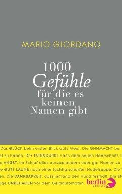 1000 Gefühle (eBook, ePUB) - Giordano, Mario