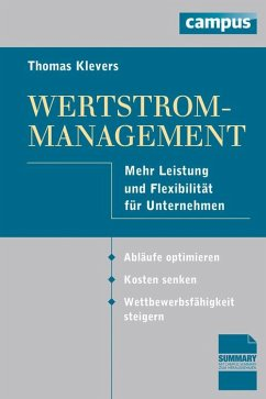 Wertstrom-Management (eBook, PDF)