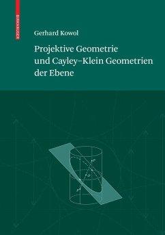 Projektive Geometrie und Cayley-Klein Geometrien der Ebene (eBook, PDF) - Kowol, Gerhard