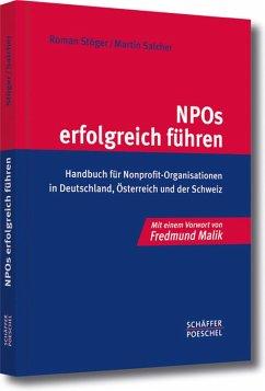 NPOs erfolgreich führen (eBook, PDF) - Stöger, Roman; Salcher, Martin