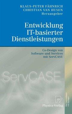 Entwicklung IT-basierter Dienstleistungen (eBook, PDF)