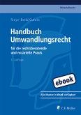 Handbuch Umwandlungsrecht (eBook, ePUB)