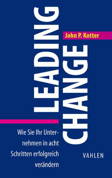 kotter leading change John p kotter is internationally known and widely regarded as the foremost speaker on the topics of leadership and change his is the premier voice on how the best organizations actually achieve successful transformations.