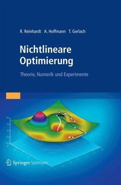 Nichtlineare Optimierung (eBook, PDF) - Reinhardt, Rüdiger; Hoffmann, Armin; Gerlach, Tobias