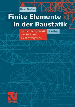 Finite Elemente in der Baustatik (eBook, PDF) - Werkle, Horst