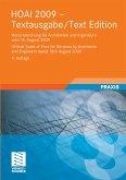 HOAI 2009 Textausgabe/Text Edition (eBook, PDF)