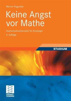 Keine Angst vor Mathe (eBook, PDF) - Poguntke, Werner