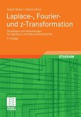 Laplace-, Fourier- und z-Transformation (eBook, PDF)