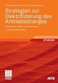 Strategien zur Elektrifizierung des Antriebsstranges (eBook, PDF)