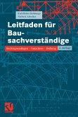 Leitfaden für Bausachverständige (eBook, PDF)