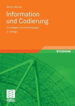 Information und Codierung (eBook, PDF) - Werner, Martin