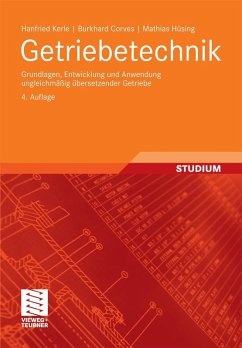 Getriebetechnik (eBook, PDF) - Kerle, Hanfried; Corves, Burkhard; Hüsing, Mathias