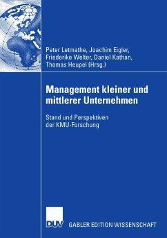 Management kleiner und mittlerer Unternehmen (eBook, PDF)