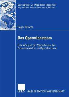 Das Operationsteam (eBook, PDF) - Gfrörer, Roger