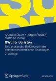 BWL für Juristen (eBook, PDF)