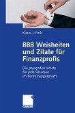 888 Weisheiten und Zitate für Finanzprofis (eBook, PDF)