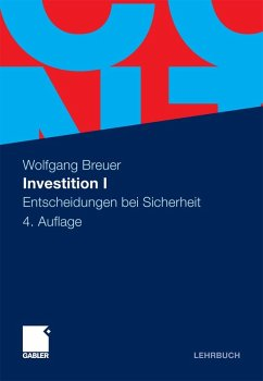 Investition I (eBook, PDF) - Breuer, Wolfgang