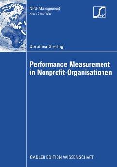 Performance Measurement in Nonprofit-Organisationen (eBook, PDF) - Greiling, Dorothea