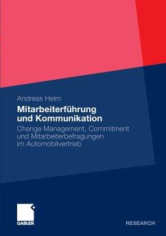 Mitarbeiterführung und Kommunikation (eBook, PDF)