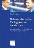 Sicheres Auftreten für Ingenieure im Vertrieb (eBook, PDF)