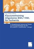 Klausurentraining Allgemeine BWL/VWL für Fachwirte (eBook, PDF)