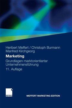 Marketing (eBook, PDF) - Meffert, Heribert; Burmann, Christoph; Kirchgeorg, Manfred