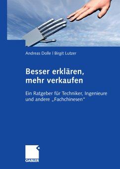 Besser erklären, mehr verkaufen (eBook, PDF) - Dolle, Andreas; Lutzer, Birgit