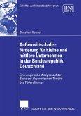 Außenwirtschaftsförderung für kleine und mittlere Unternehmen in der Bundesrepublik Deutschland (eBook, PDF)