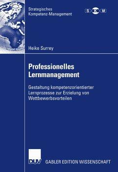 Professionelles Lernmanagement (eBook, PDF) - Surrey, Heike