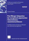 Post-Merger-Integration bei europäisch-japanischen Unternehmenszusammenschlüssen (eBook, PDF)