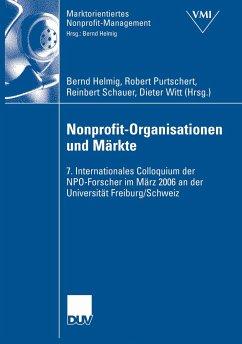 Nonprofit-Organisationen und Märkte (eBook, PDF)